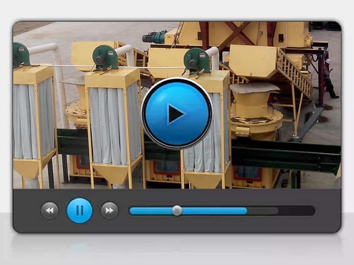 河北廊坊玉米芯颗粒-生物质颗粒机视频
